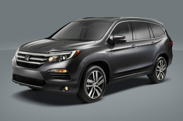 2016 Honda Pilot Review and Exterior