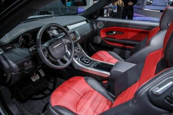 2016 Range Rover Evoque Convertible interior