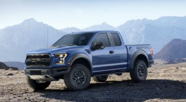 2017 Ford F-150 SVT Raptor view