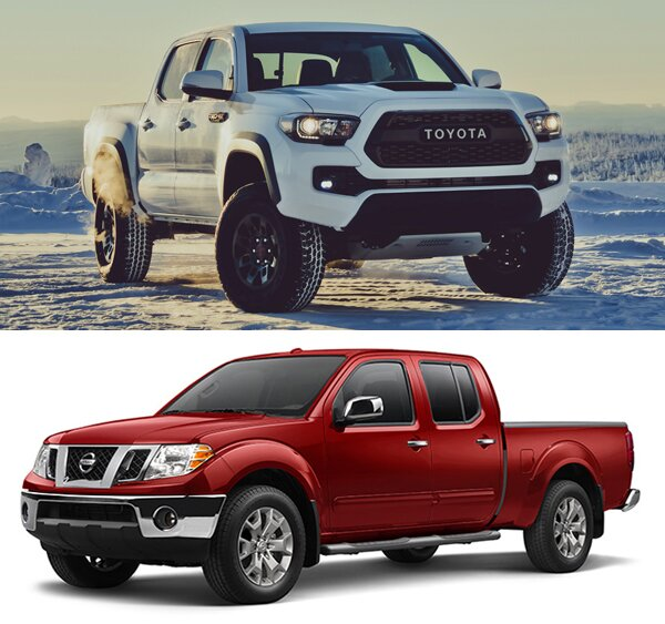 2017 toyota tacoma vs nissan frontier trucks reviews 2019 2020. Black Bedroom Furniture Sets. Home Design Ideas