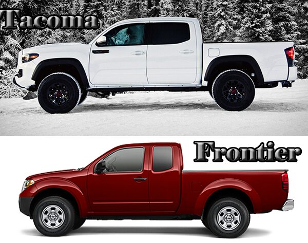 Beautiful 2017 Toyota Tacoma Vs Nissan Frontier Styling