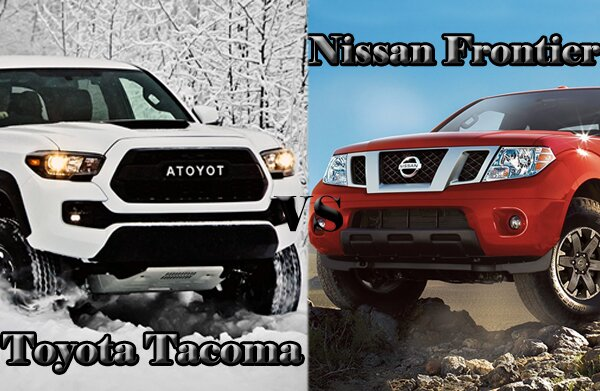 Great 2017 Toyota Tacoma VS Nissan Frontier