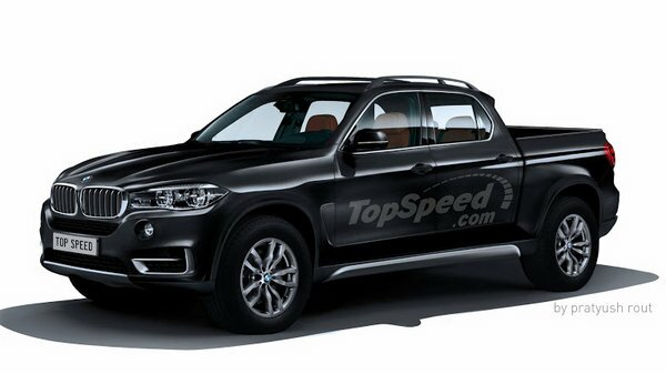 2018 BMW Pickup Truck Concept and Rumors