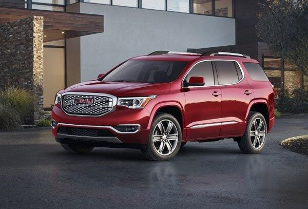 2018 GMC Acadia Concept And Engine
