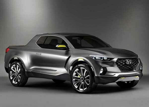 2018 Hyundai Santa Cruz Pickup Almost Ready