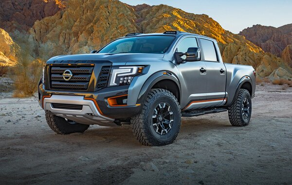 2019 Nissan Titan – high-performance pickup for US