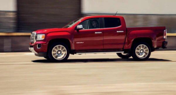 2020 GMC Canyon featured side