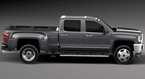 2020 GMC Denali 3500HD side