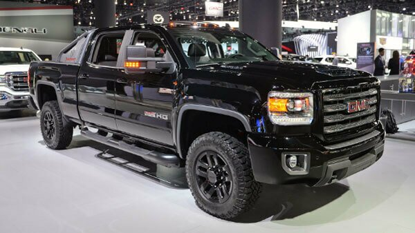 2020 GMC Sierra 2500 Heavy Duty side